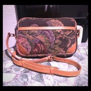 RARE-Polo Ralph Lauren vintage 80's tapestry bag